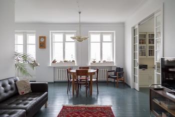 Просторная квартира с отсылками к советскому авангарду