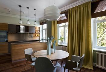 Дизайн двухуровневой квартиры в Киеве