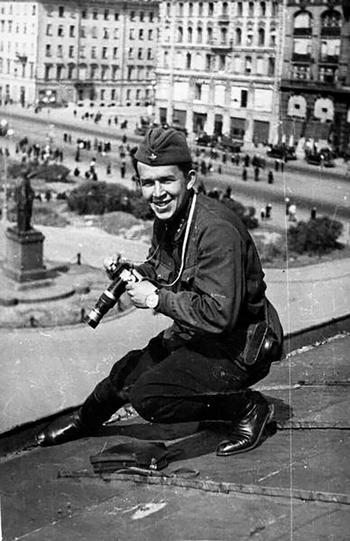 Советская жизнь глазами известного фотографа