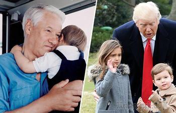 9 самых известных дедушек, которые во внуках души не чаяли: Дональд Трамп, Владимир Путин и другие