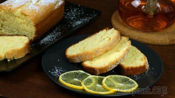 Семья в восторге! Вкуснейший рецепт домашней выпечки - лимонный пирог
