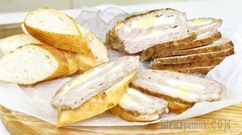 Если у вас есть фарш, приготовьте мясной хлеб - это заменит любую колбасу