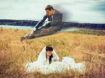 20 фотографий русских свадеб, объясняющих, почему нас боятся во всём мире