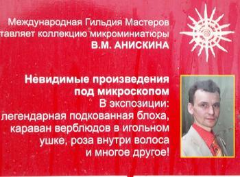 Микроскопические  чудеса Владимира Анискина