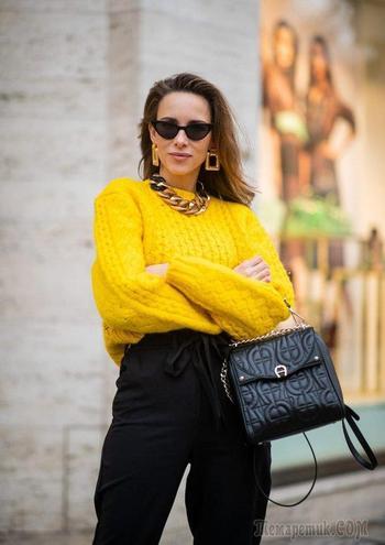 Лучшие образы из модных блогов за неделю: Alexandra Lapp, Jenny Cipoletti, Andreea Birsan и другие