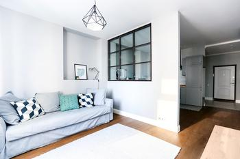 50 оттенков серого — интерьер квартиры 65 кв. м.