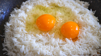 Такого вкусного риса мы еще не ели // Рис с овощами и соевым соусом