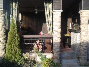 Дача: комната отдыха под открытым небом