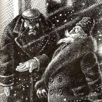 «Собачье сердце» Булгакова и «12 стульев» Ильфа и Петрова в иллюстрациях Сергея Лемехова (1949 - 2016)