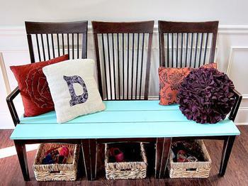 Идеи использования старых стульев в дизайне вашего дома и сада