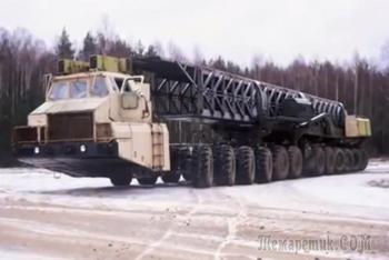 Самые необычные тяжеловозы из Белоруссии