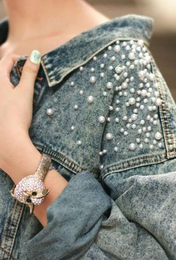 Преобразовываем джинсовую куртку: 20 ультрамодных идей