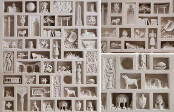 Крохотные скульптуры из камня