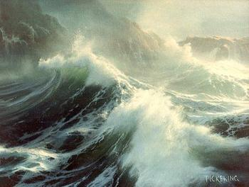 Байрон Пикеринг морская живопись