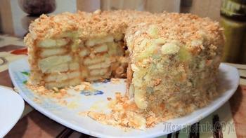 Торт без выпечки бесподобно вкусный.