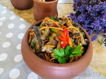 Если вы еще не готовили БАКЛАЖАНЫ, тогда срочно на кухню! Корейская закуска из баклажанов