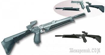 Модульный газобаллонный пневматический пистолет Байкал МР-651-07-КС