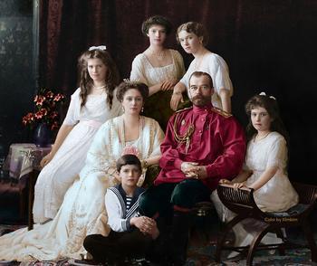 40 раскрашенных исторических фотографий о русских людях (1900-1965)
