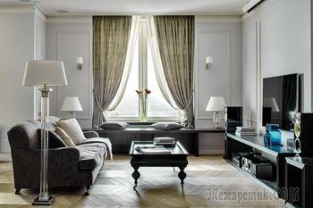 Просторная семейная квартира в Москве