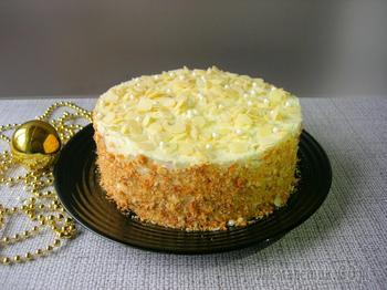 Торт «Пломбир» со вкусом мороженного