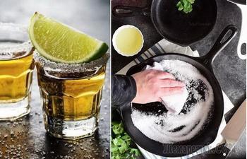 Текила-трюк, или Как эффективно использовать соль во время уборки