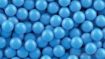 Головоломка про синие шарики