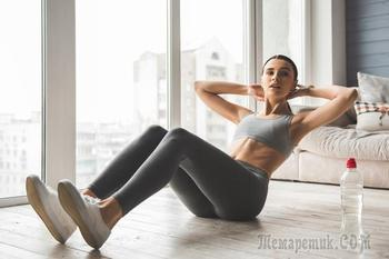 Упражнения, которые помогут быстро добиться кубиков на животе
