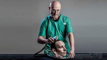 В Китае была проведена первая успешная трансплантация головы