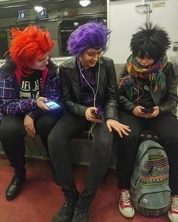 Смешные и странные пассажиры метро