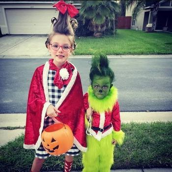 Креативные костюмы на Хэллоуин для детей