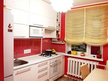 Используем имеющееся пространство на кухне по максимуму