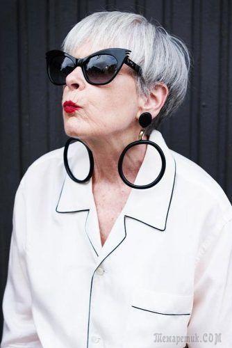 44 непревзойденных варианта классических коротких стрижек для дам старше 50