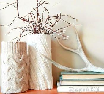 Декор ваз: 10 лучших идей