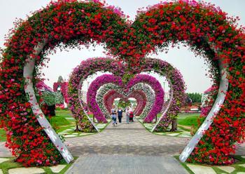 Да это же 8-е чудо света, сад невероятной красоты в Дубае