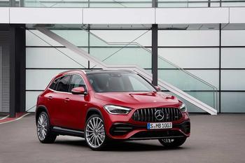 Новый Mercedes-Benz GLA: Вот таким он изначально и должен был быть