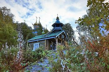 Монастырская кладезная.Важеозерский монастырь. карелия