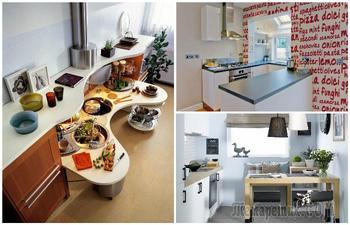 Идеи для маленькой кухни, которые вдохновят на смелые эксперименты
