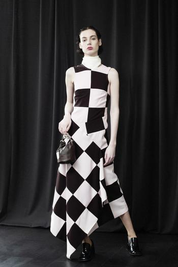 Шахматная клетка – модный принт сезона осень-зима