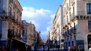 Сицилия. 02. Виа Этнеа – главная пешеходная улица Катании