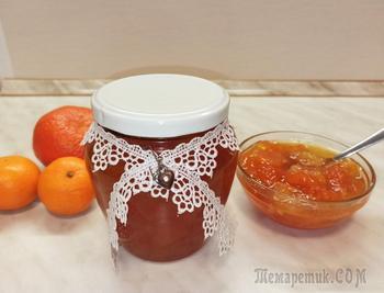 Мандариново-апельсиновое варенье с имбирем