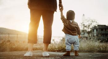 Когда воспитывает (только) мать