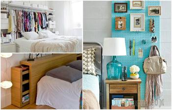 Идеи, которые помогут организовать хранение и оптимизировать пространство спальни