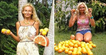 Женщина 27 лет не ела ничего кроме фруктов и прекрасно себя чувствует