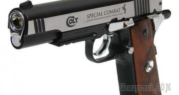 Colt Special Combat — одна из наиболее популярных моделей пневматических пистолетов