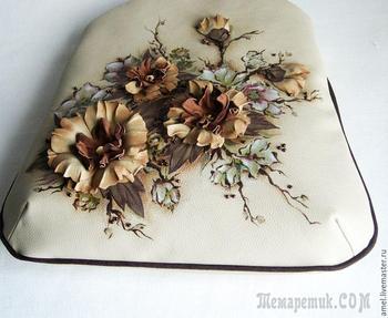 Декор сумки «Осенний вальс»