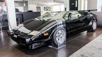 Lamborghini Countach 1990: капсула времени из Монреаля
