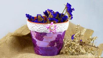 Как сделать красивые кашпо для комнатных цветов своими руками