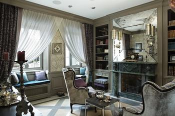 Частный дом с французским интерьером