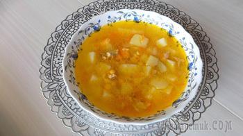Куриный гороховый суп