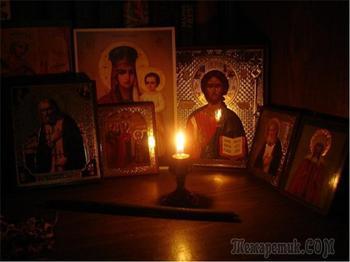 Свеча — символ молитвы